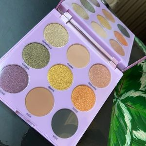 Profusion 9-shades shimmery eyeshadow pallette